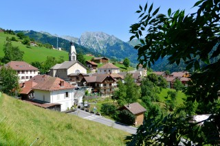 The village and valley
