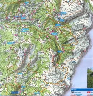 Carte Itinéraires piétons