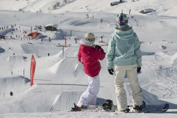 Snowpark / Boarder Cross