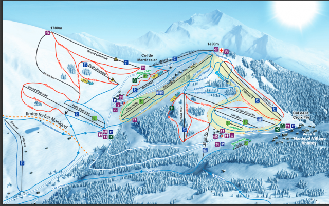 Map of Slopes