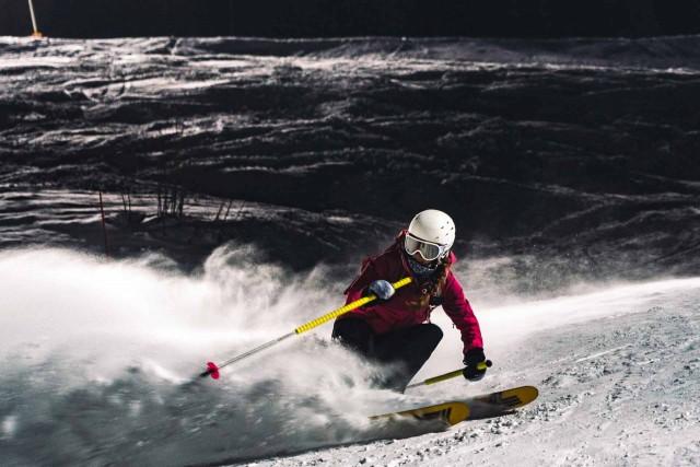 Night Skiing in Manigod