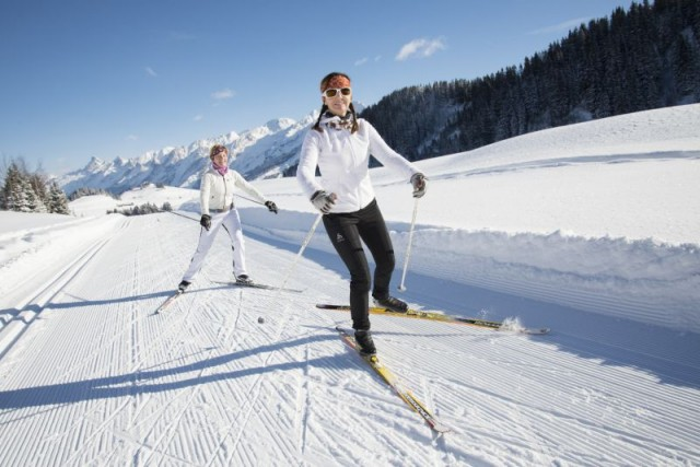 Ski pass for cross country
