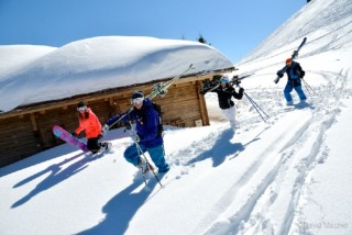 Winterurlaub in Manigod