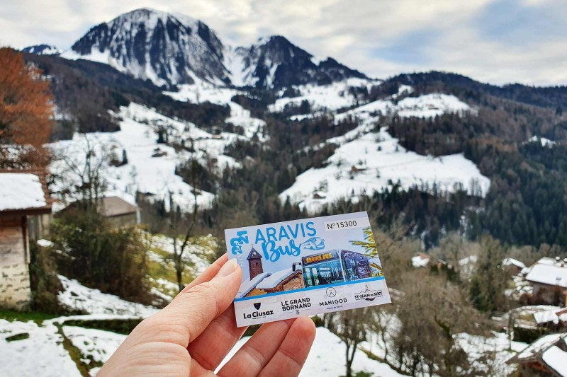 Carte Aravis Bus
