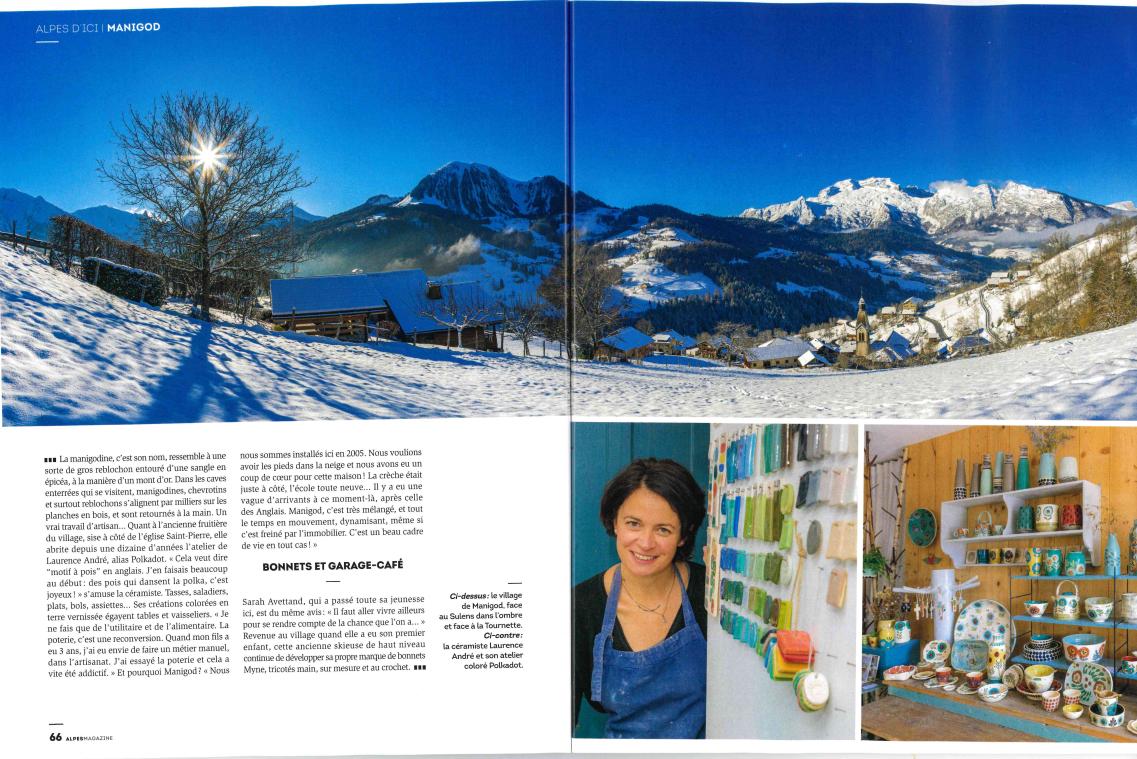 Alpes Magazine - © Office de Tourisme de Manigod