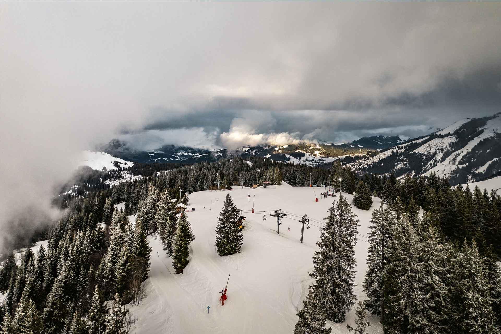 Manigod ski area - © Esprits Outdoor