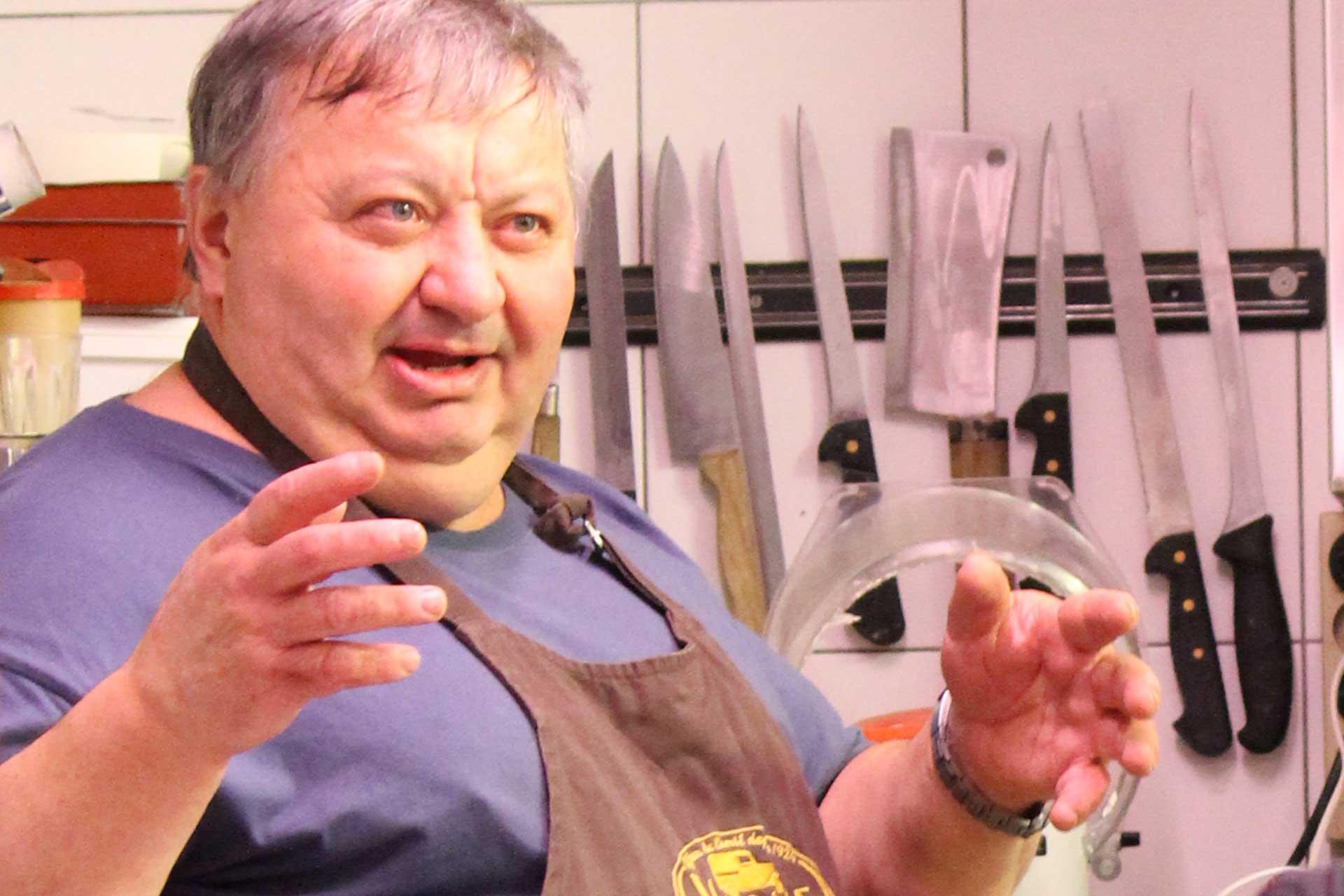 Jean-Michel chef Auberge du Sulens - © M. Sauvage