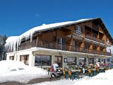 Hotel restaurant les Rosieres en hiver