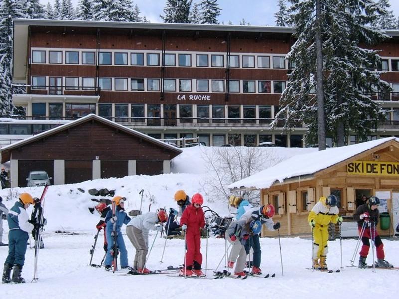 Centre la Ruche La Salle en hiver