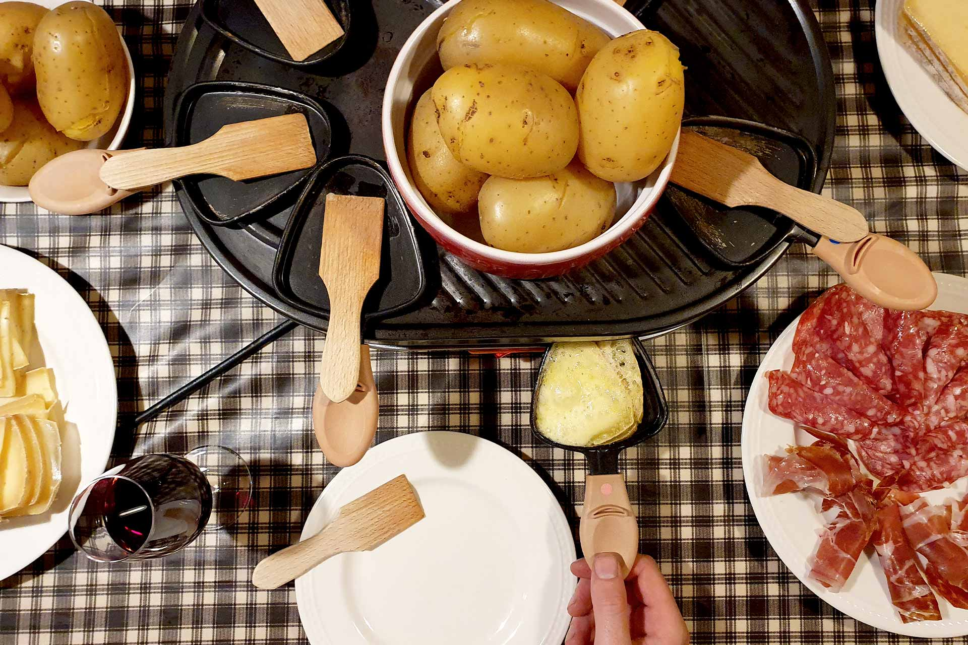 Raclette party - © M. Sauvage
