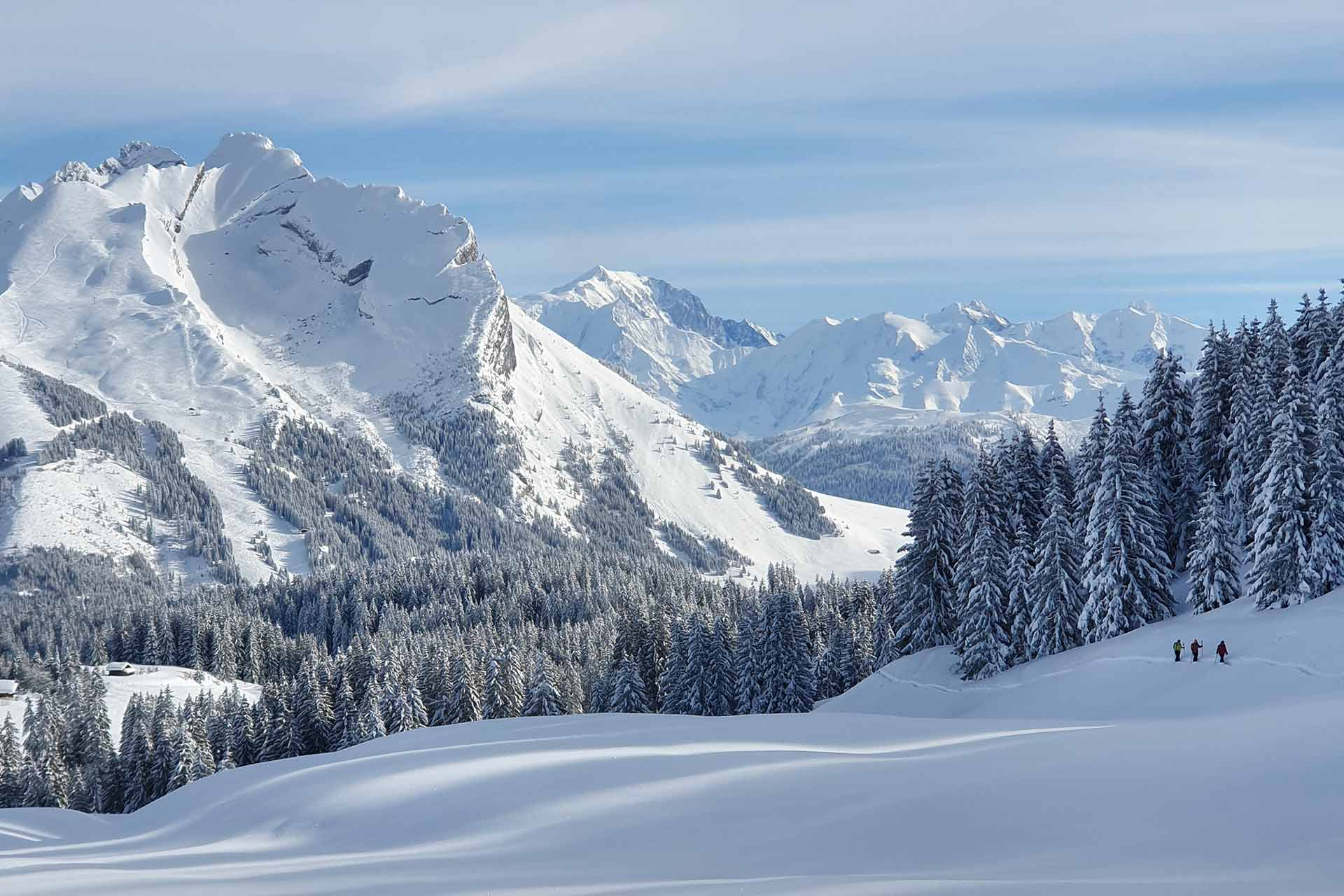 Schneeschuhe - © M. Sauvage