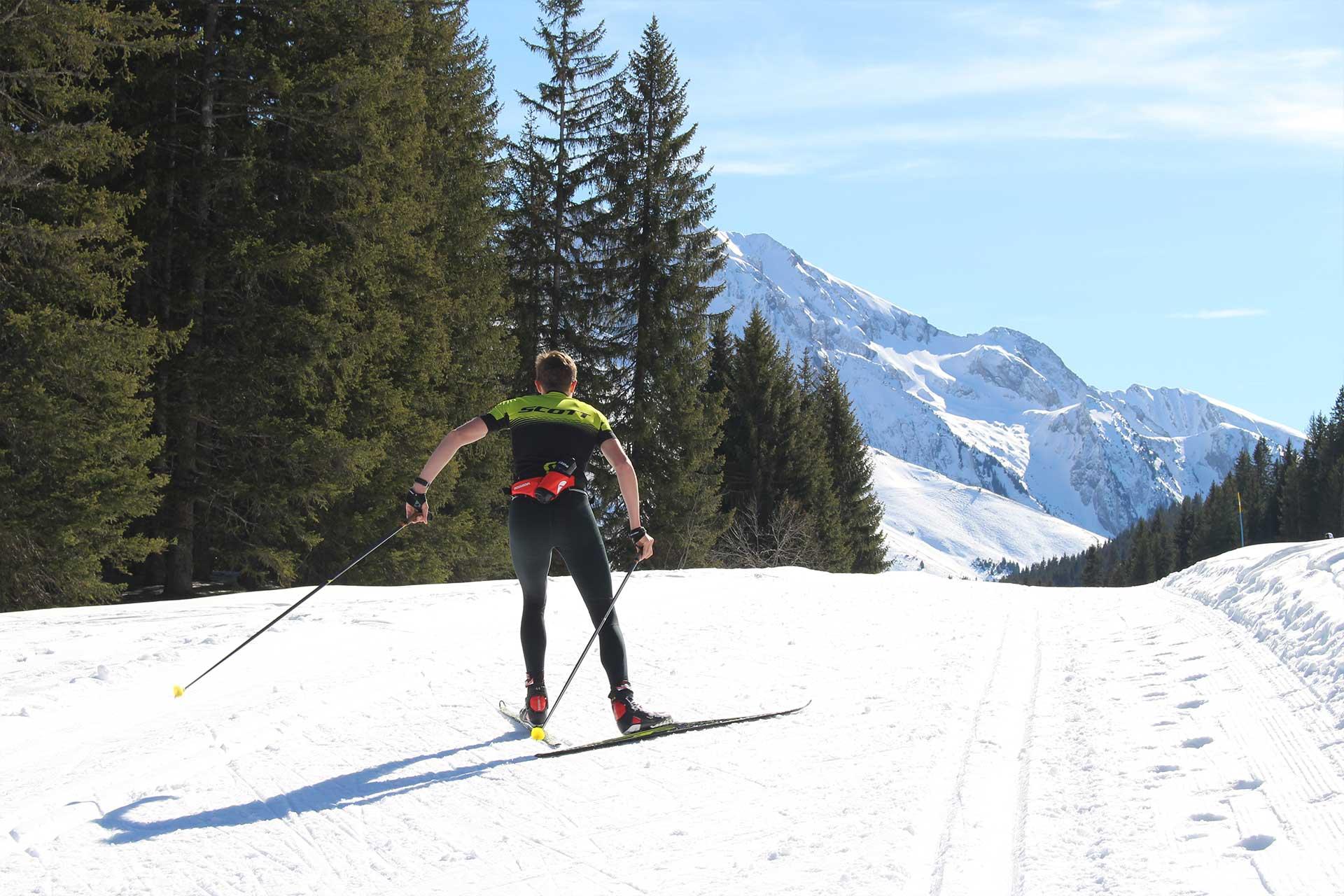 Ski de Fond à Manigod - © M. Sauvage