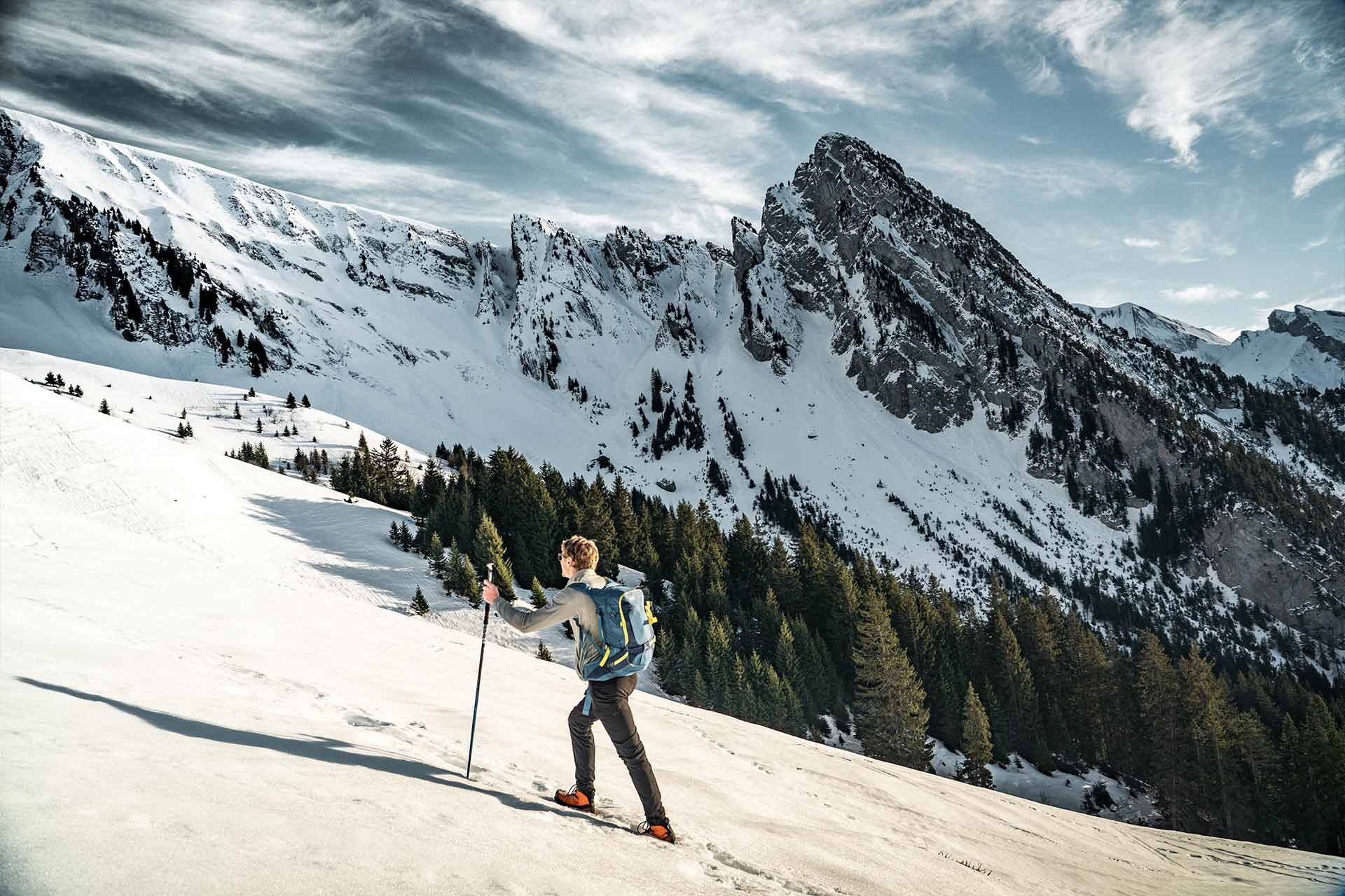 Skitouren in Manigod - © Esprits Outdoor