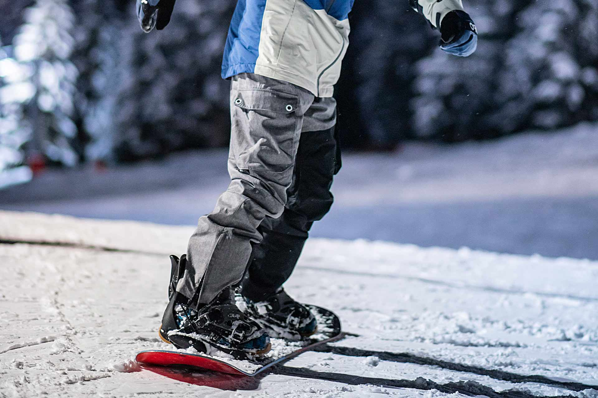 Ski Nocturne à Manigod - © Tilby Vattard