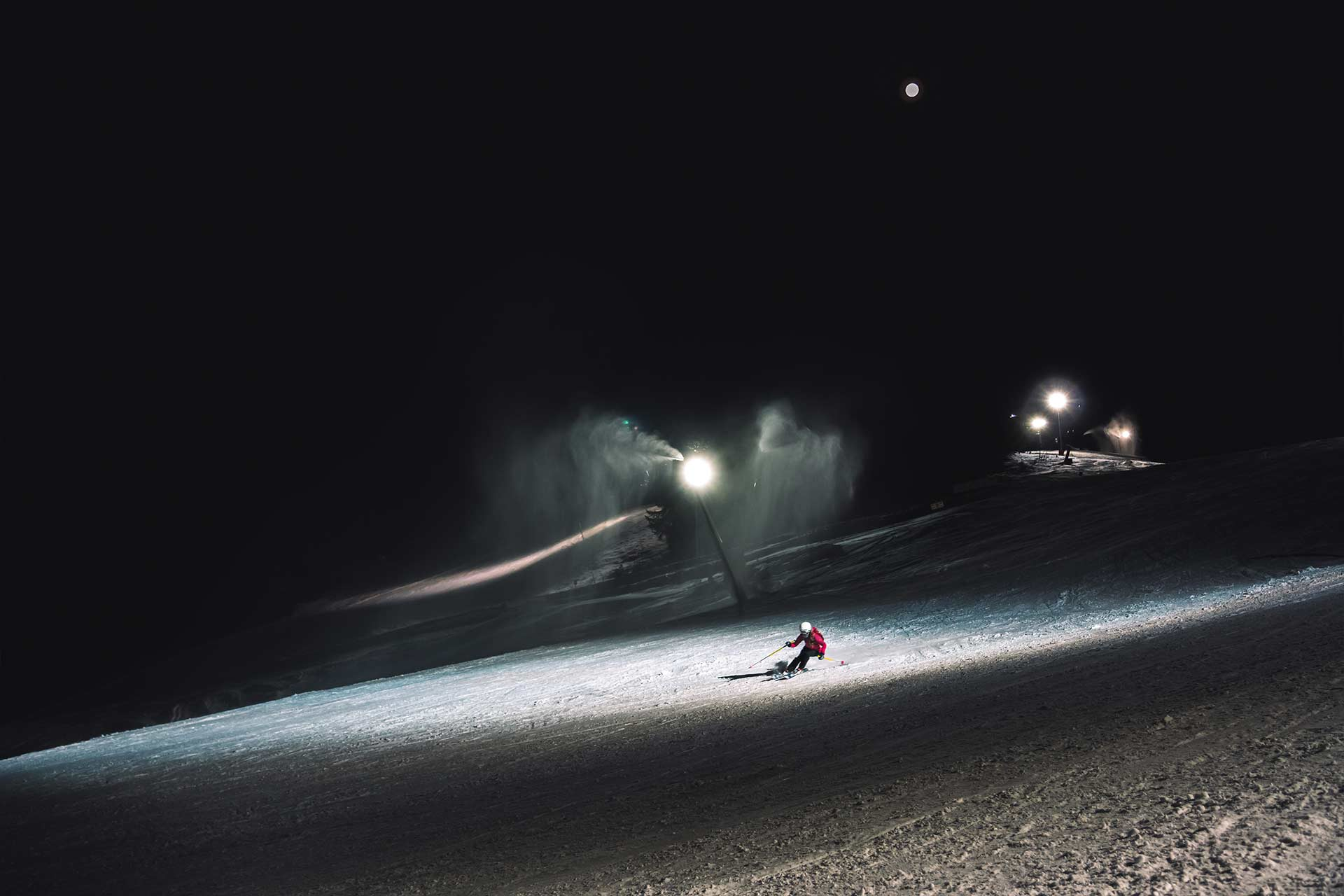 Night Ski in Manigod - © Esprits Outdoor