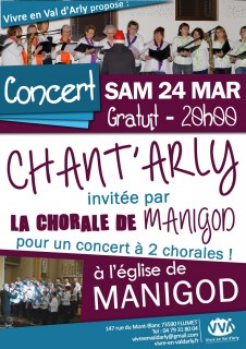 Concert Chant'Arly
