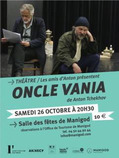 Théâtre oncle vania