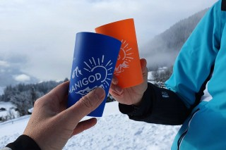 Manigod Eco-Cup glasses