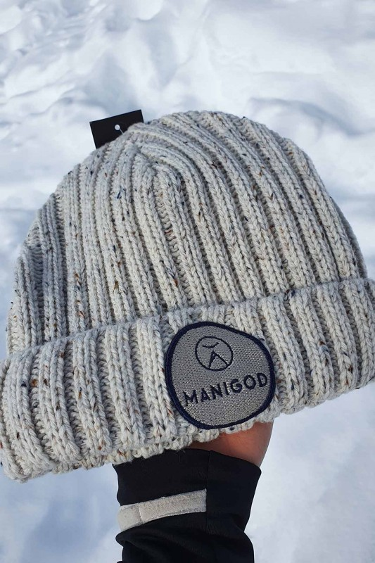 Bonnets logotés Manigod sans pompon