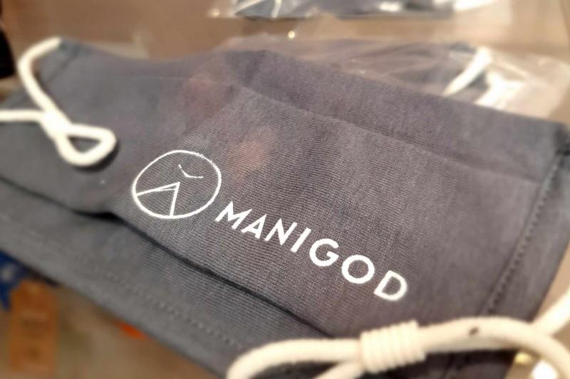 Manigod logo masks