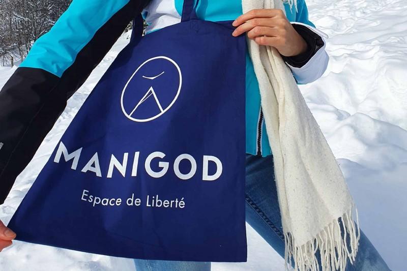 Manigod Logo Einkaufstasche